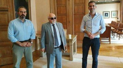 Να καταστεί η Αθήνα δήμος προσβάσιμος στα άτομα με αναπηρία, ζήτησε από τον Κ. Μπακογιάννη, αντιπροσωπεία της ΕΣΑμεΑ