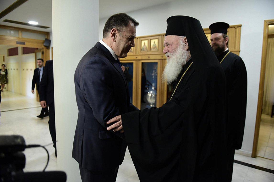 Δωρεά της Εκκλησίας της Ελλάδος για τη θωράκιση του φράκτη στα σύνορα του Έβρου