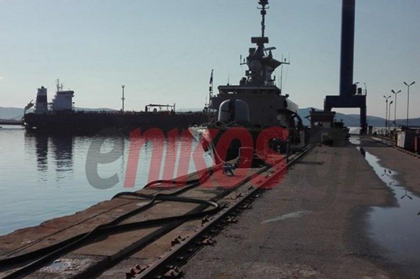 Το Πολεμικό Ναυτικό παρέλαβε την Πυραυλάκατο «Καραθανάσης»