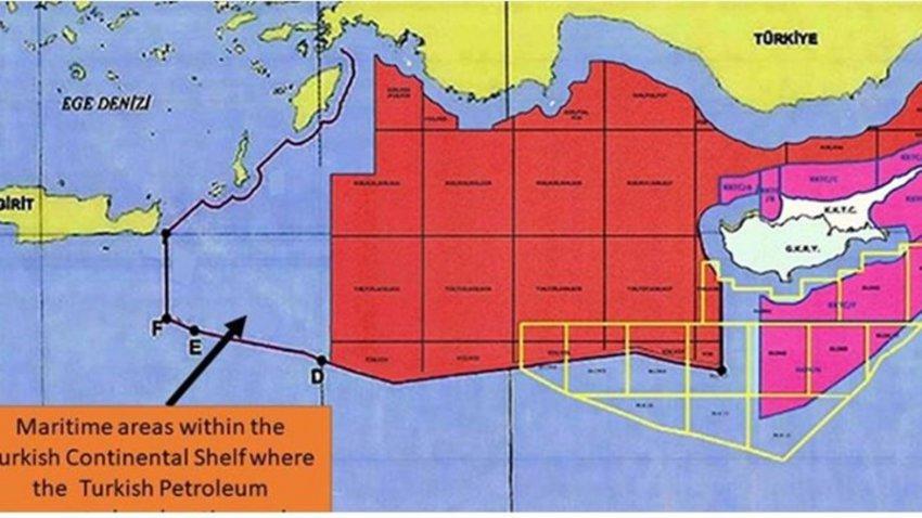 Νέοι προκλητικοί χάρτες από την Αγκυρα με... εξαφανισμένο το Καστελλόριζο