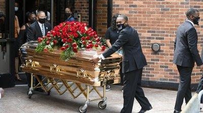 H συγκινητική τελετή στη μνήμη του Τζορτζ Φλόιντ