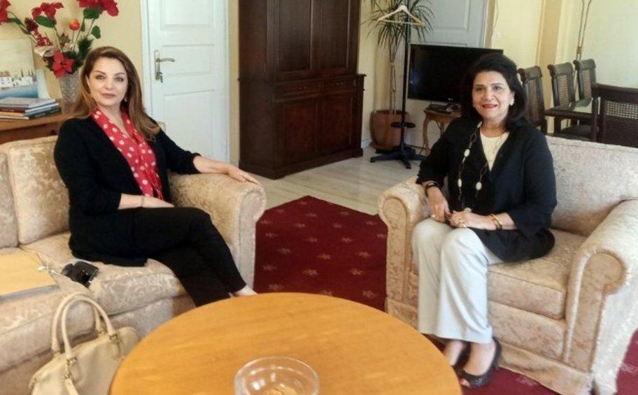 Συνάντηση της προέδρου του ΕΟΤ με την περιφερειάρχη Ιονίων Νήσων