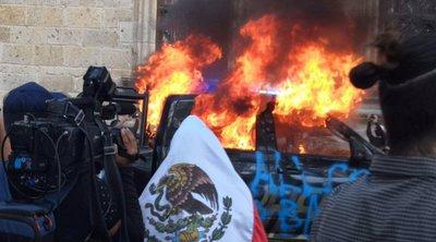 Μεξικό: Ταραχές εξαιτίας του θανάτου νέου που είχε συλλάβει η αστυνομία