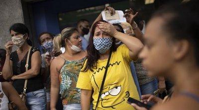 Βραζιλία-Κορωνοϊός: 1.220 νεκροί, 42.619 κρούσματα σε 24 ώρες