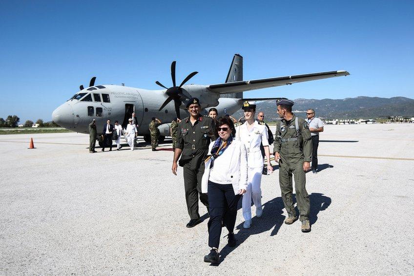 Επίσκεψη Προέδρου της Δημοκρατίας Κ. Σακελλαροπούλου στους Λειψούς