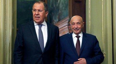 Ο Ακίλα Σάλεχ στην Μόσχα για συνομιλίες