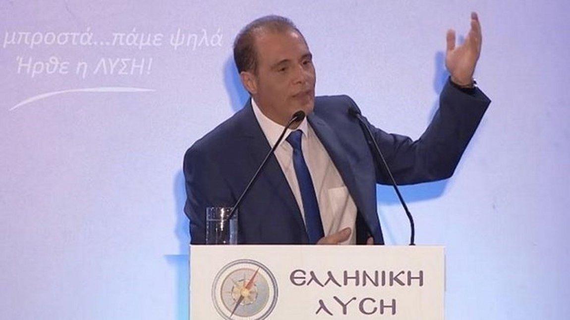 Βελόπουλος Μπορεί να έχουμε κάτι κακό με την Τουρκία - Πρέπει να ορίσουμε κόκκινες γραμμές