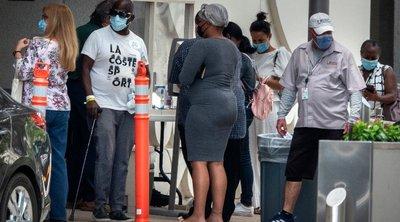 ΗΠΑ-κορωνοϊός: 9.500 νέα κρούσματα στη Φλόριντα - Επ' αόριστον απαγόρευση κυκλοφορίας στο Μαϊάμι κατά τις νυχτερινές ώρες