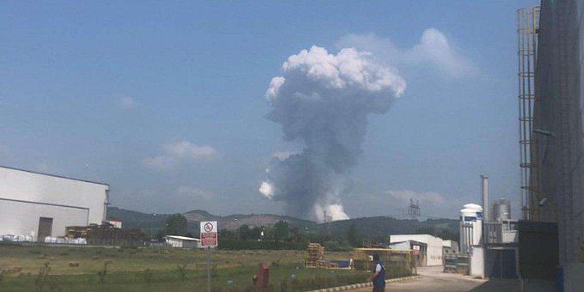 Τουρκία: Ισχυρή έκρηξη σε εργοστάσιο πυροτεχνημάτων - Πάνω από 40 τραυματίες
