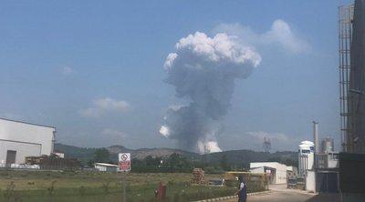 Τουρκία: Ισχυρή έκρηξη σε εργοστάσιο πυροτεχνημάτων - Πάνω από 40 τραυματίες - Βίντεο