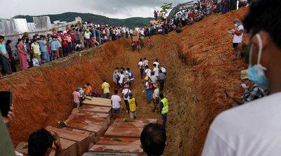Μιανμάρ: Περισσότεροι από 170 οι νεκροί από την κατολίσθηση στο ορυχείο νεφρίτη της Καχίν