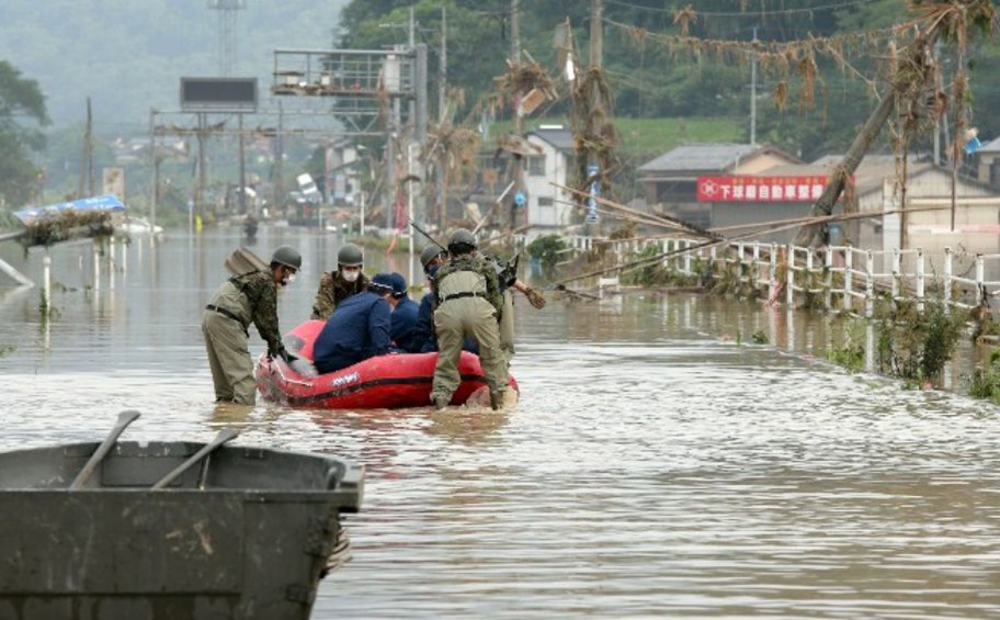 Στους 34 οι νεκροί στην Ιαπωνία από τις καταρρακτώδεις βροχές