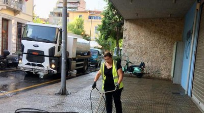 Κυριακάτικη καθαριότητα στο Μεταξουργείο - Μπακογιάννης: Αλλαξε ο τρόπος που καθαρίζει η Αθήνα