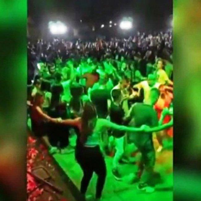 Συνωστισμός σε γλέντι με 2.000 άτομα στο Γουδή χωρίς αποστάσεις - «Ήταν ασυγκράτητοι», λέει ο διοργανωτής