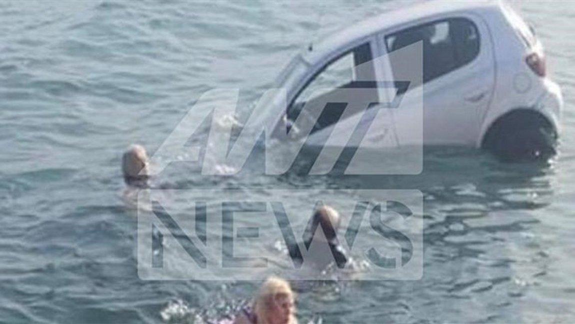 Αρκίτσα: Περιπέτεια για ζευγάρι - Το αυτοκίνητό τους έπεσε στη θάλασσα αντί να μπει στο πλοίο