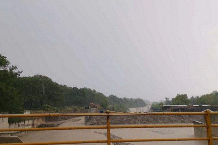 Τρίκαλα: Φούσκωσε ο Πηνειός - Πλημμύρισε το Ρίζωμα - ΒΙΝΤΕΟ