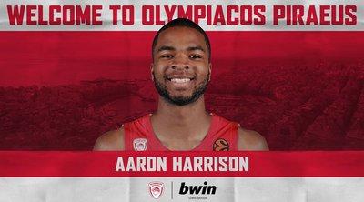 Ολυμπιακός: Ανακοίνωσε τον Άαρον Χάρισον