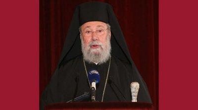 Αρχιεπίσκοπος Κύπρου: «Ακόμη και το ροχαλητό του Οικουμενικού Πατριάρχη ενοχλεί τους Τούρκους»