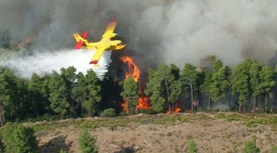 Χωρίς ενεργό μέτωπο η πυρκαγιά στις Σάπες - Σε εξέλιξη η επιχείρηση κατάσβεσης