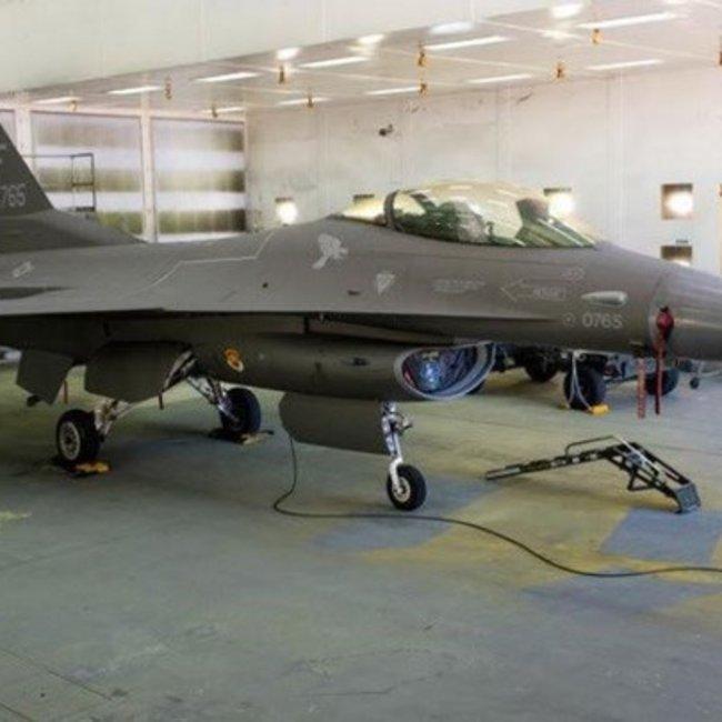 F-16 με… κοστούμι από F-35 - Φωτογραφίες