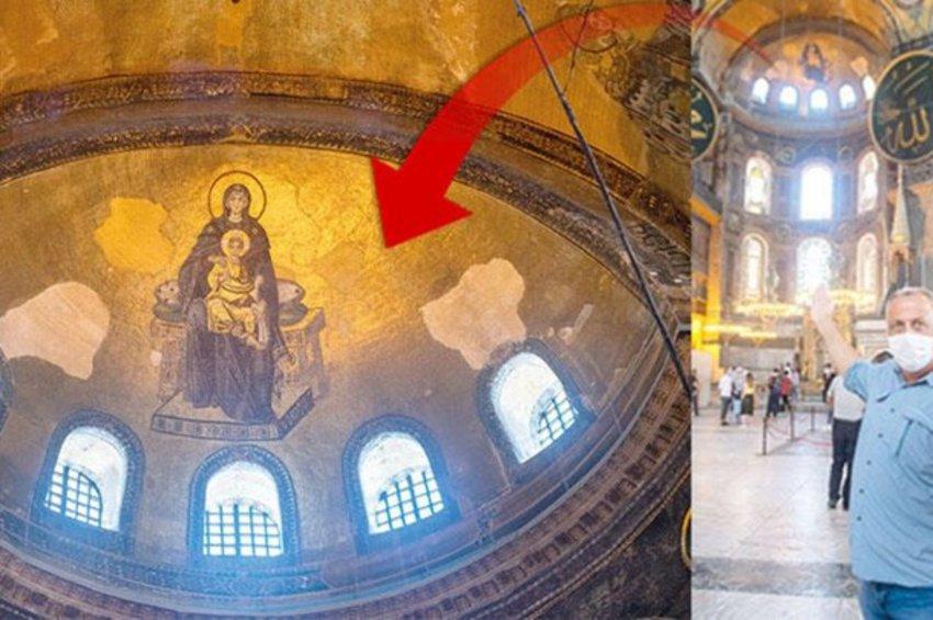 Hurriyet για Αγία Σοφία: Το σχέδιο για να καλυφθούν οι αγιογραφίες - Ειδική τεχνολογία και φωτισμός