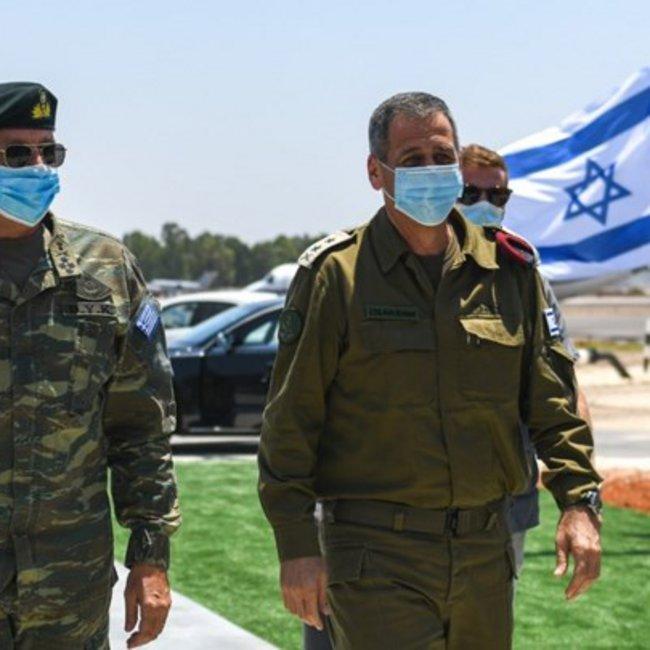 H «μυστική» επίσκεψη του Στρατηγού Φλώρου στο Ισραήλ και η «γαλάζια συμμαχία»