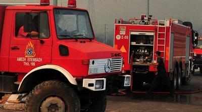 Ζάκυνθος: Φωτιά στην περιοχή Νερατζούλες