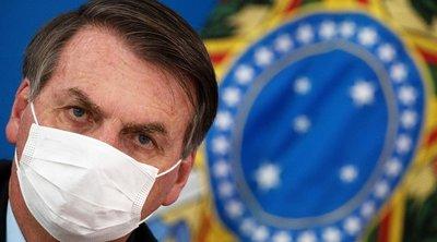 Βραζιλία: Θετικός στον κορωνοϊό ο προσωπάρχης του Μπολσονάρου