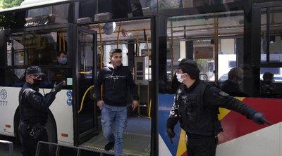 Κ. Καραμανλής: Μικρότο ποσοστό κρουσμάτων στα ΜΜΜ - Στο 65% η πληρότητα λεωφορείων