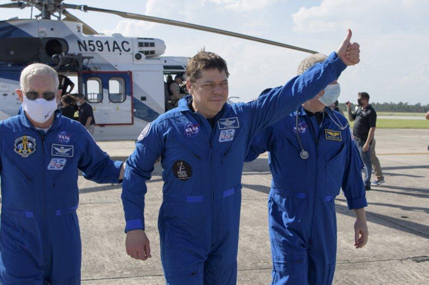 Επέστρεψε στη Γη η κάψουλα της SpaceX - Τι δήλωσε ο Τραμπ