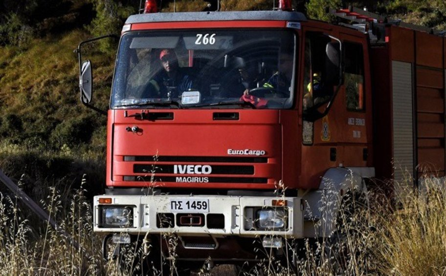 Αλεξανδρούπολη: Σε εξέλιξη επιχείρηση κατάσβεσης δασικής πυρκαγιάς στο Τριφύλλι - Επί ποδός η Πυροσβεστική