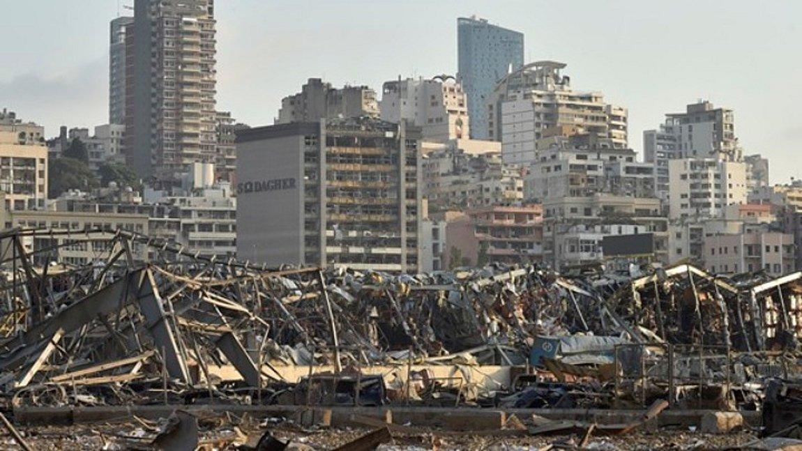 Βηρυτός: Ο χάρτης της NASA που αποκαλύπτει το μέγεθος της καταστροφής