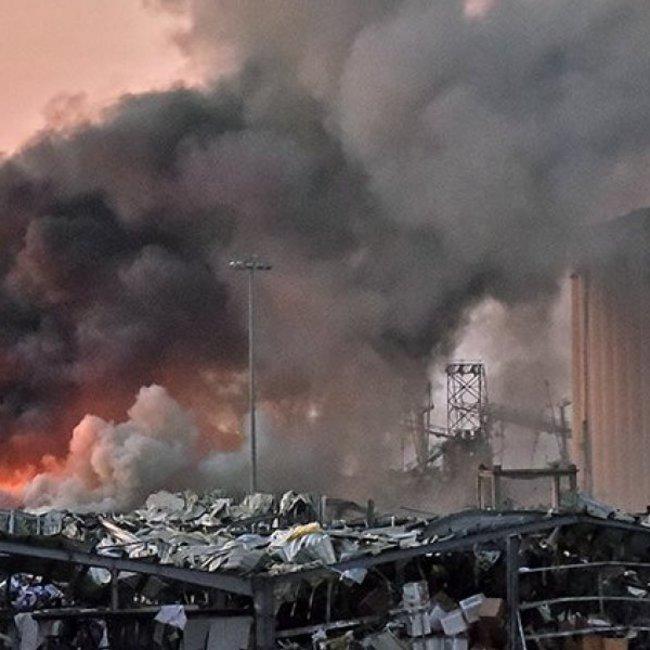 Συγκλονιστική έκρηξη στη Βηρυτό - Δεκάδες νεκροί, χιλιάδες τραυματίες και εγκλωβισμένοι