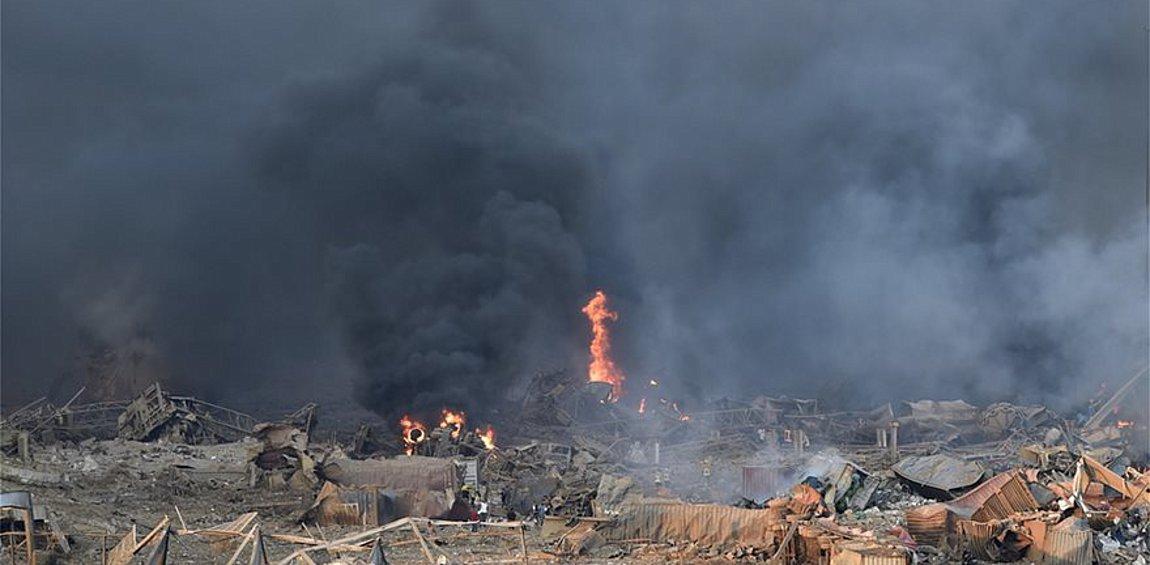 Παγκόσμιο σοκ από την έκρηξη στη Βηρυτό - Συγκλονιστικές εικόνες ανθρώπινου πόνου - Αγωνία για τους εκλωβισμένους στα συντρίμμια