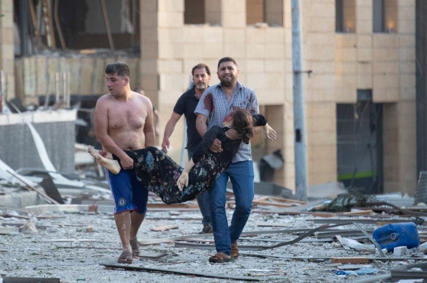 Βηρυτός: Ντοκουμέντα τρόμου και ανθρώπινες ιστορίες που συγκλονίζουν - ΒΙΝΤΕΟ