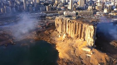 Η έκρηξη στη Βηρυτό δημιούργησε κρατήρα βάθους 43 μέτρων