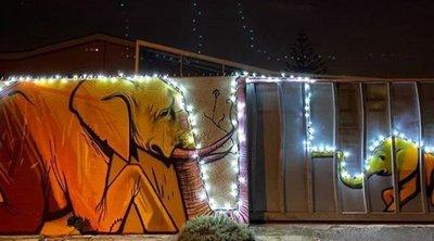 «Μια φορά και μία πόλη», από τον Νοτιοαφρικανό καλλιτέχνη δρόμου Falco One