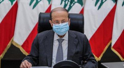 Ο πρόεδρος του Λιβάνου υπόσχεται διαφανή έρευνα για την έκρηξη