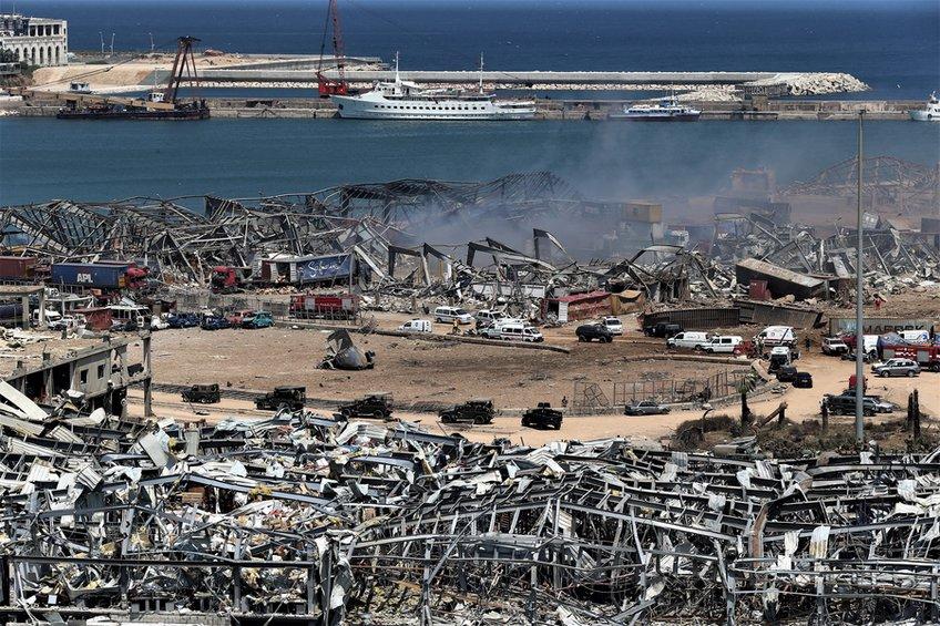 Λίβανος: Σε κατ  οίκον περιορισμό αξιωματούχοι του λιμένα της Βηρυτού στον απόηχο της πολύνεκρης έκρηξης