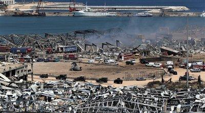 Λίβανος: Σε κατ' οίκον περιορισμό αξιωματούχοι του λιμένα της Βηρυτού στον απόηχο της πολύνεκρης έκρηξης