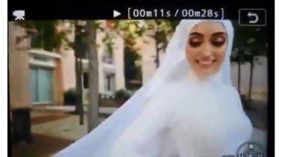 Βηρυτός: Η νύφη έτρεχε να σωθεί από την έκρηξη - ΒΙΝΤΕΟ