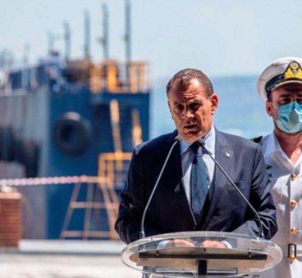 Παναγιωτόπουλος: Αυτή η χώρα δεν απειλείται από πουθενά - Τελετή καθέλκυσης ΤΠΚ 7