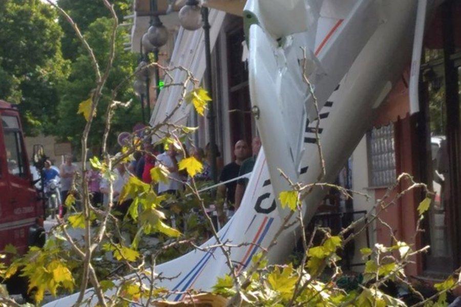«Είμαι καλά, θα ξαναπετούσα αύριο αν μπορούσα», λέει ο 19χρονος που έριξε μονοκινητήριο στην Πρώτη Σερρών - BINTEO