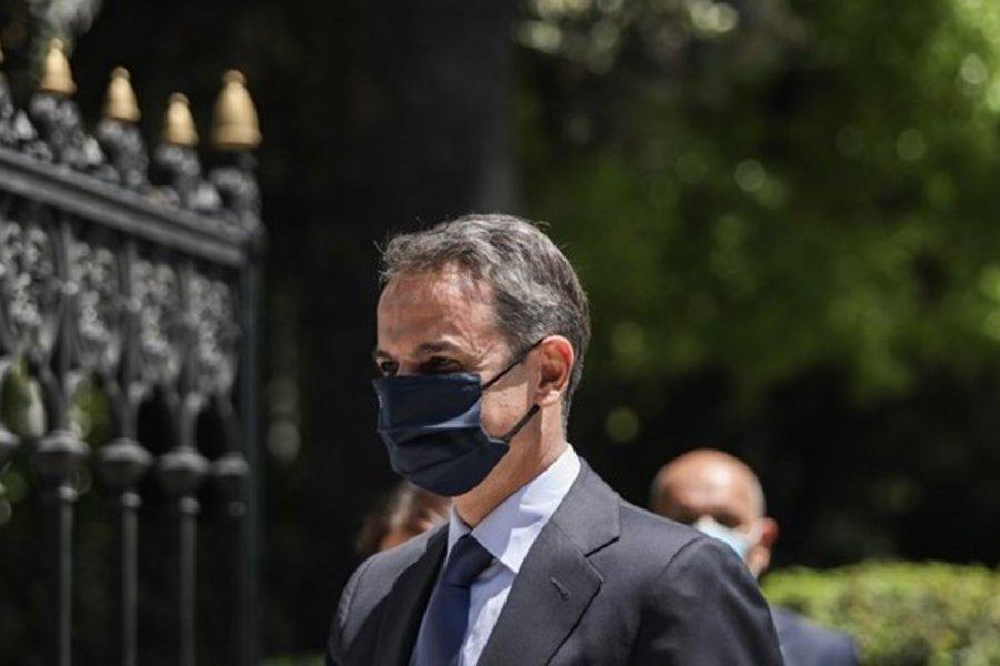 Κυριάκος Μητσοτάκης: Παρατήρηση σε δημοσιογράφο που δεν φορούσε μάσκα - ΒΙΝΤΕΟ