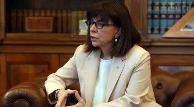 Σακελλαροπούλου: Οι παγκόσμιες προκλήσεις να αντιμετωπιστούν στη βάση του διεθνούς δικαίου