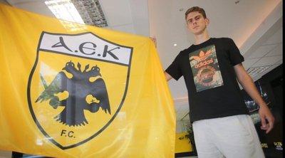 Ιατρούδης: «Πρώτος μου στόχος να καθιερωθώ στην ΑΕΚ»