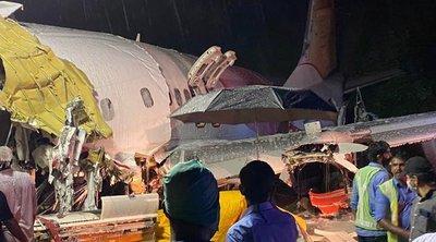 Ινδία: Τουλάχιστον 16 νεκροί και 15 σοβαρά τραυματίες από τη συντριβή του αεροσκάφους στο Καλικούτ