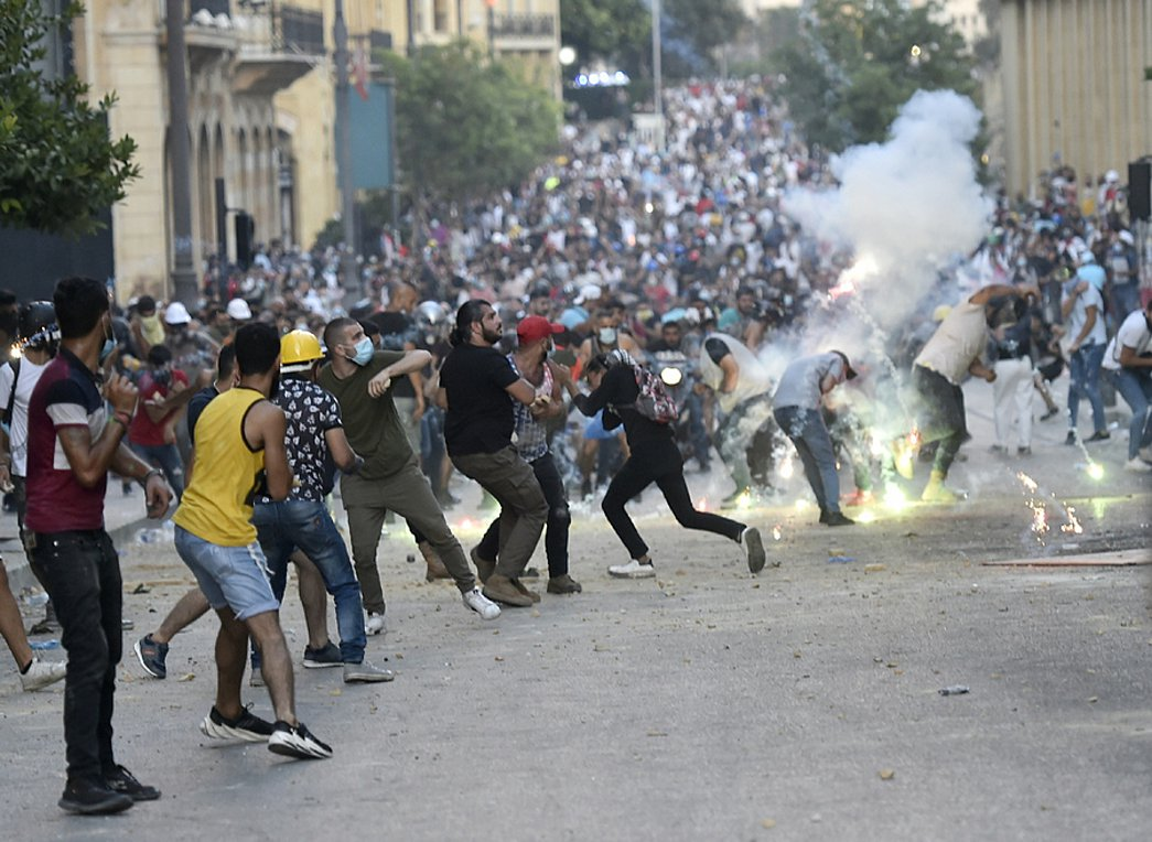 Λίβανος: Νέες συγκρούσεις μεταξύ των δυνάμεων ασφαλείας και διαδηλωτών στη Βηρυτό