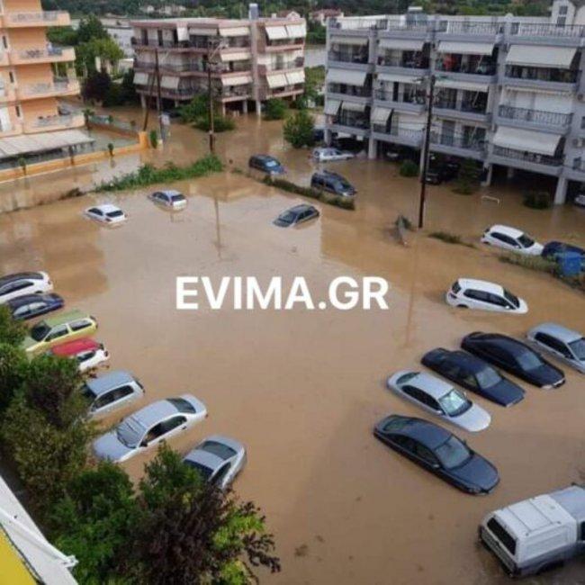 Ασύλληπτη τραγωδία στην Εύβοια: Ενα βρέφος και δύο ηλικιωμένοι νεκροί από τις πλημμύρες
