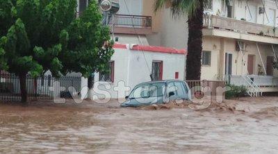 Η κακοκαιρία σάρωσε την Εύβοια: Αναφορές για δύο νεκρούς - Εγκλωβισμένοι και πλημμυρισμένα σπίτια - ΒΙΝΤΕΟ